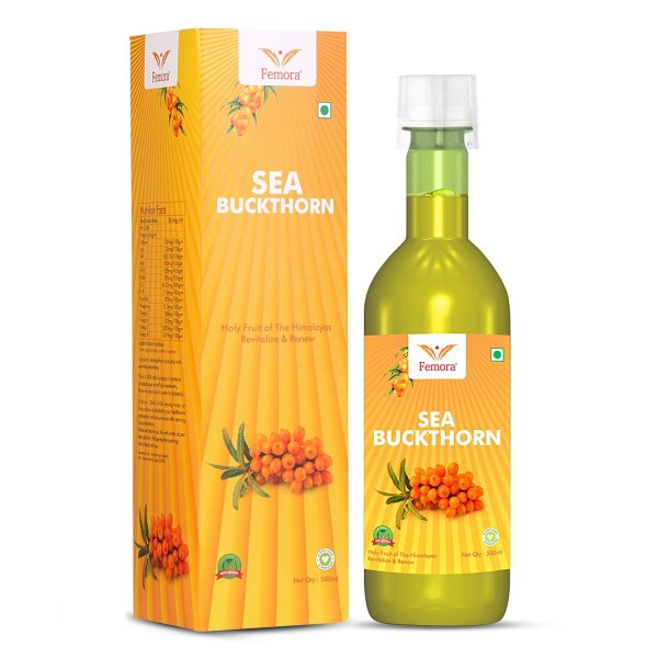 Femora Pure Sea Buckthorn Juice 500ml- Pack of 3