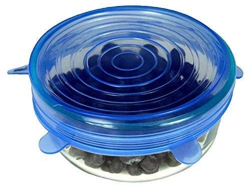 Borosilicate Glass Mixing Bowl with Lid - 400ML- Set of 2
