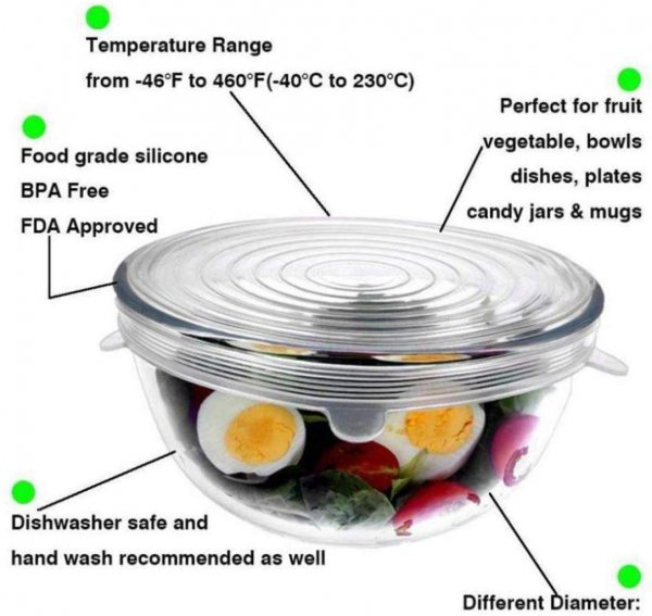 Borosilicate Glass Mixing Bowl with Lid - 700ML