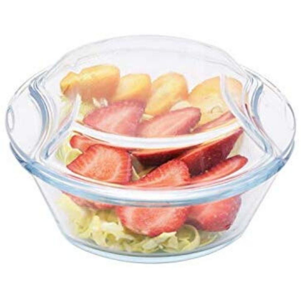 Borosilicate Glass Microwave Safe Casserole - 500ML