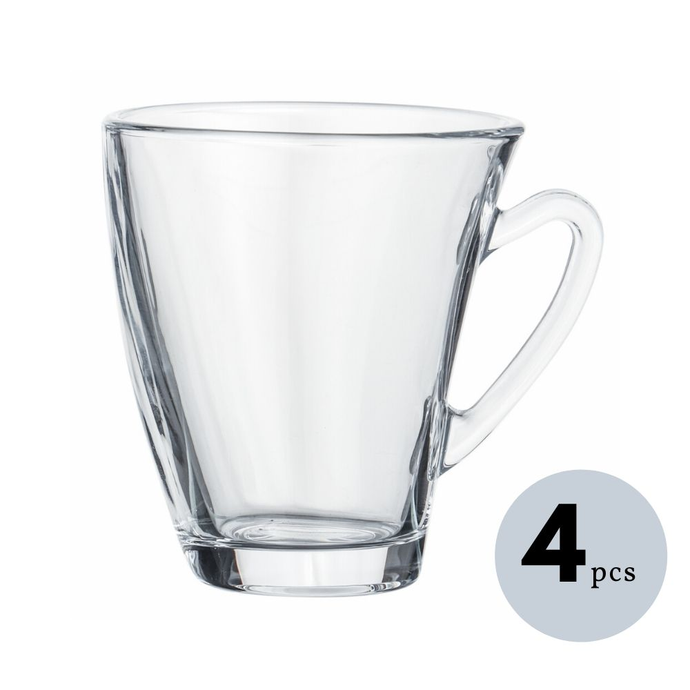 Glass Clove Tea Mug Coffee Mug 210 ML
