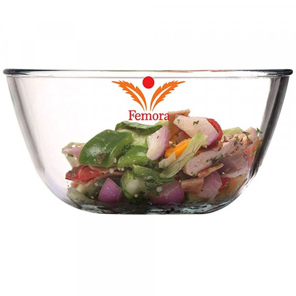 Borosilicate Glass Microwave Safe Mixing Bowl Set - 2650 ML