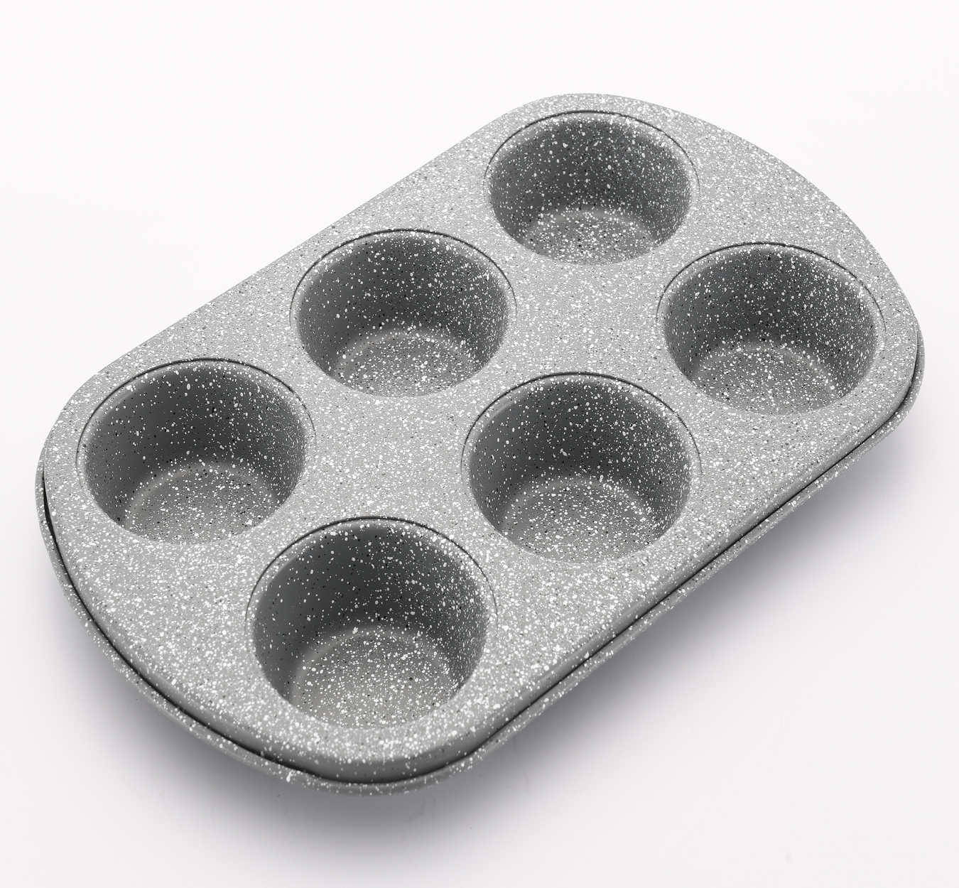 Femora Carbon Steel with Stoneware Coating Non Stick Baking Cupcake Muffin Tray