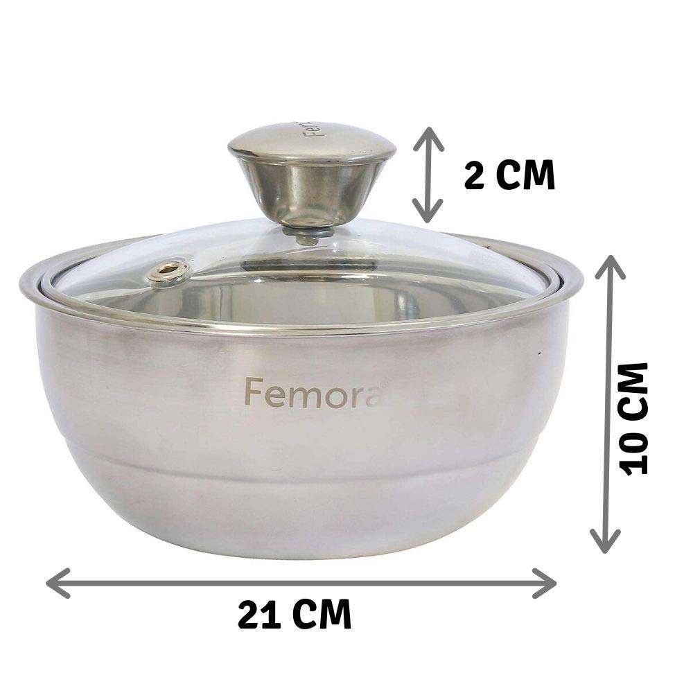 Stainless Steel Curry Server - 1.50 L