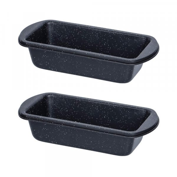 Carbon Steel ILAG Black Coating Small Loaf Pan - Set of 2