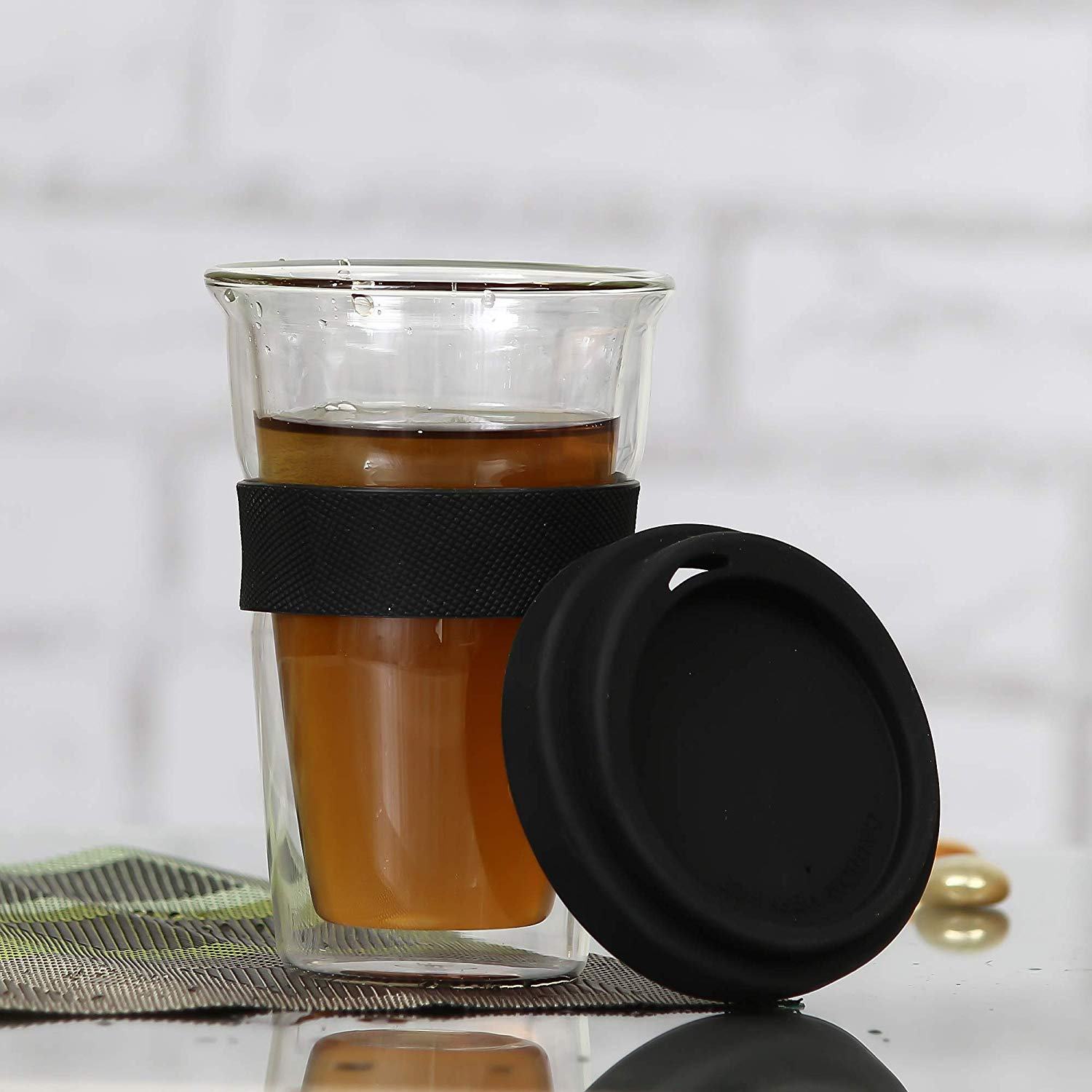 Double Wall Coffee Sipper - 350 ML
