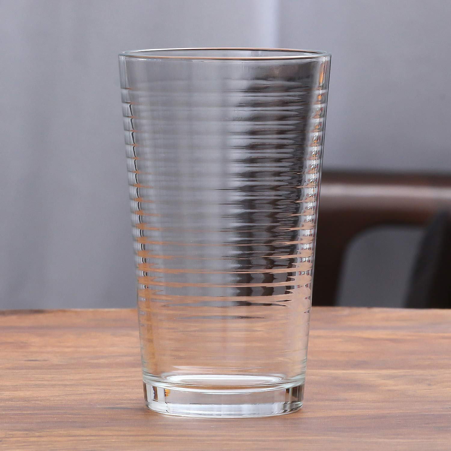 Clear Glass Tumbler - 270ml, Set of 6