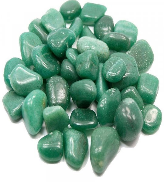 Femora Green Aventurine Pebbles Home Decorative Tumbles Stone 1 KG
