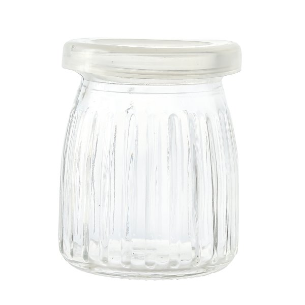 Clear Glass Storage Jars - 150 ML