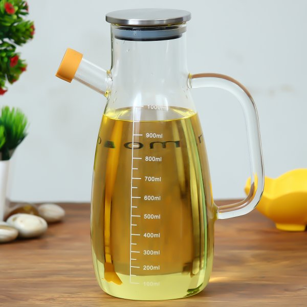 Femora Borosilicate Oil Bottle - 1 L