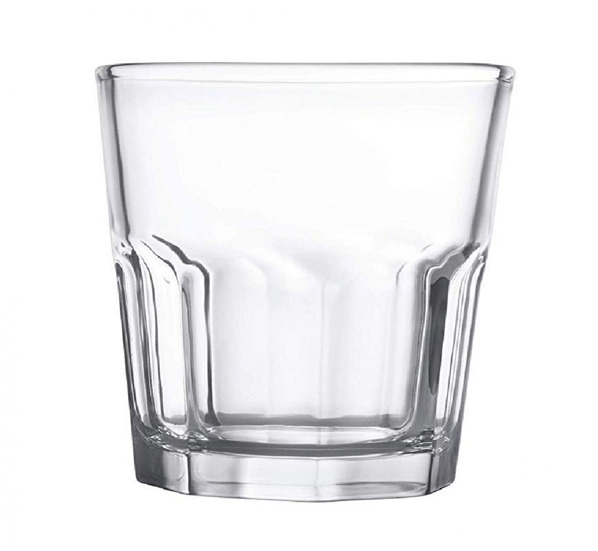 Clear Glass Juice Tumbler - 240 ML, Set of 4