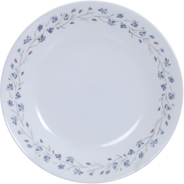 Corelle Lilac Blush Medium Glass Plate Set, 6-Pieces