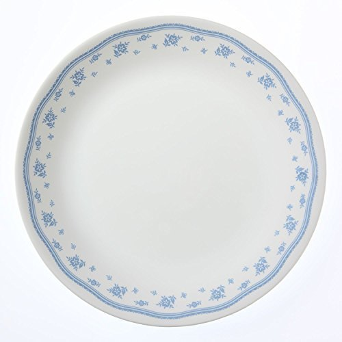 Corelle Livingware Morning Blue Dinner Plate, 6 Pieces