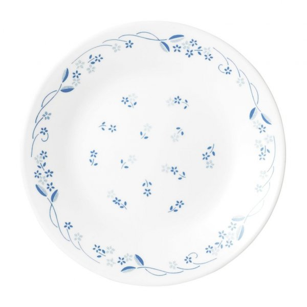 Corelle Livingware Provincial Blue Dinner Plate Set, 6- Pieces