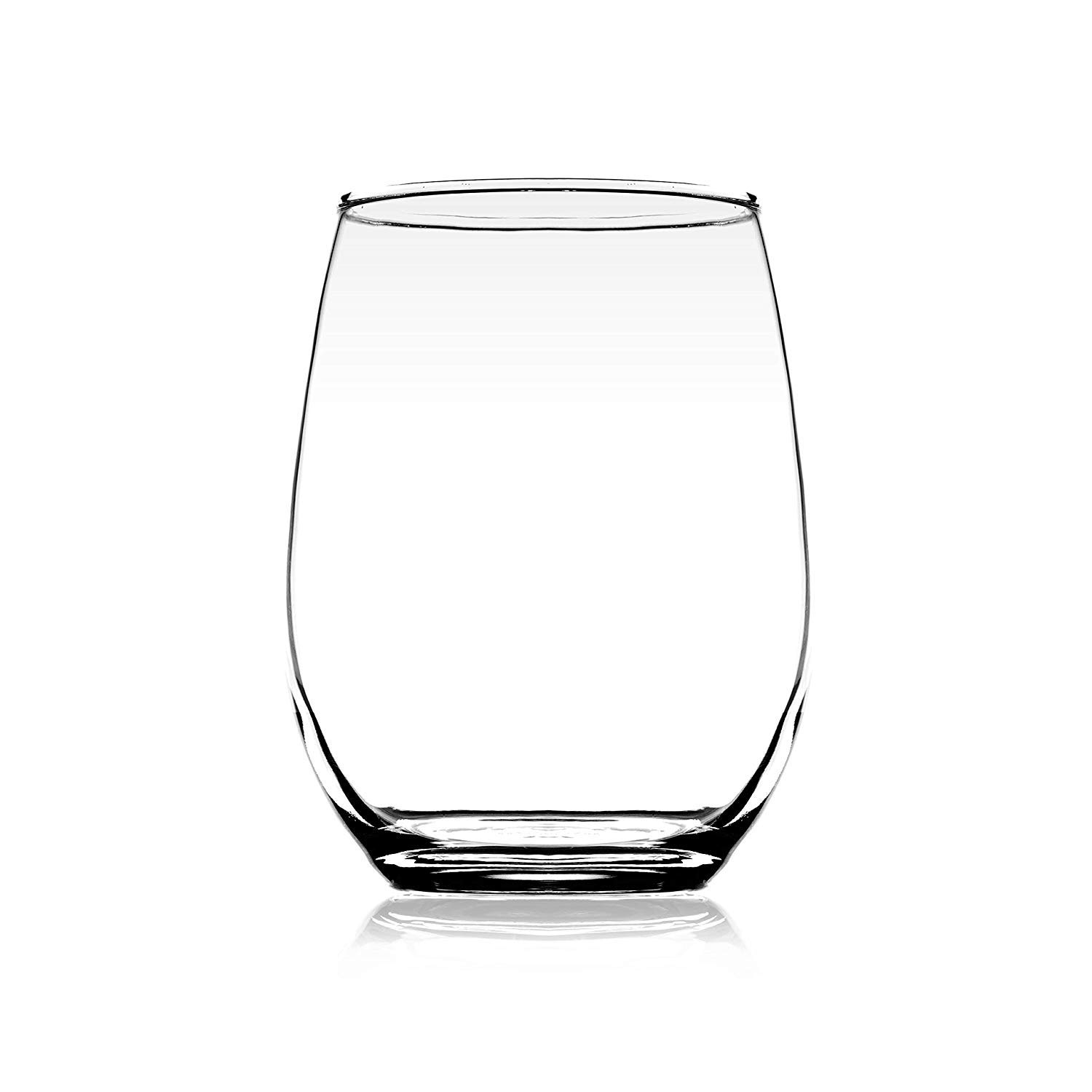 Clear Glass Scotch Juice Tumbler - 320ML, Set of 4