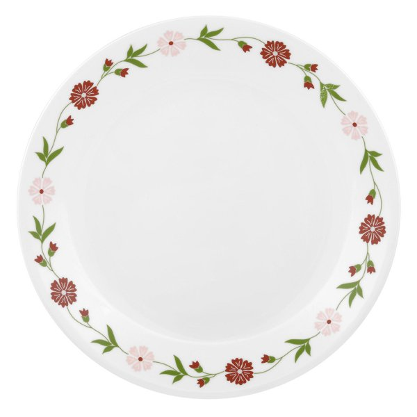 Corelle Livingware Spring Pink Dinner Plate Set, 6-Pieces